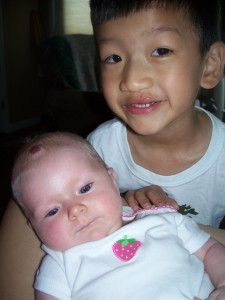 Clara Mei and Xander