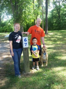 Ariel, Patrick, and Xander went camping.  It was Xander's 1st camping trip and he loved it!